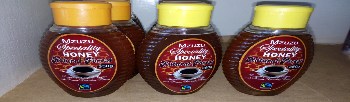 Mzuzu Speciality Honey. Available in major stores across the country